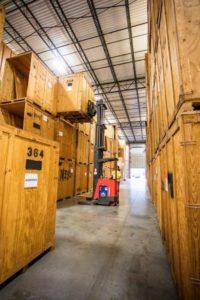 Storage Area Forklift