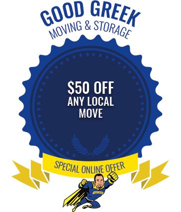 Good Greek Moving Special Online Offer