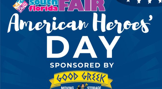 Good Greek Sponsors American Heroes Day